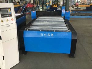 China 100a plasma sny cnc masjien 10mm plaatmetaal
