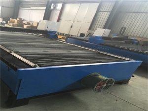 Warm verkoop metaalplaat sny vlekvrye staal koolstofstaal 100 A cnc plasmasnyer 120 plasma snymasjien