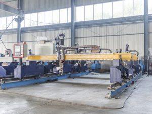 Intelligente Gantry-tipe CNC-metaalplaat-snymasjien outomatiese plasma- en vlamsnyer-masjinerie