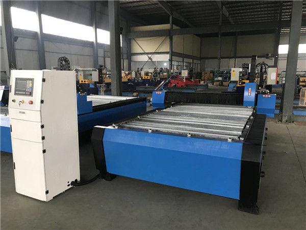 Groot 20006000mm CNC metaalplaatbuismasjien vir die sny van plasma
