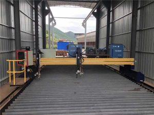 Presisie CNC plasma snymasjien akkuraat 13000mm met servomotor