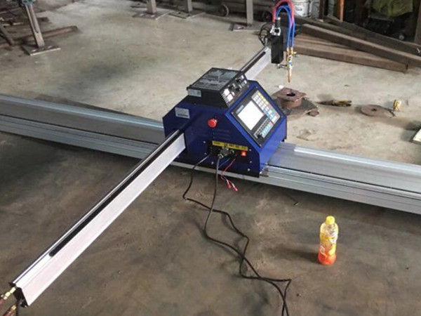 klein cnc plaat plasma snymasjien 1530 Draagbare CNC Metal PlasmaFlame plaatmetaal snymasjien te koop